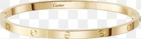 Armband Cartier - Love Bracelet Cartier Jewellery Gold PNG