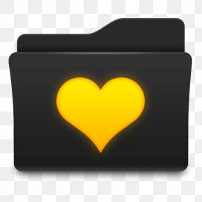 Favorites Folder Love Icon - Directory Computer File PNG