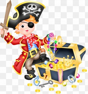 Cartoon Pirates - Picture Frame Android Child Clip Art PNG
