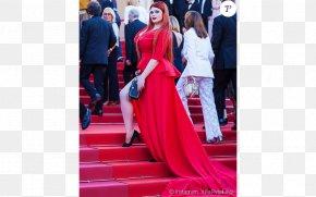 Red Carpet - Cannes Film Festival Red Carpet Plus-size Model Wardrobe Malfunction PNG