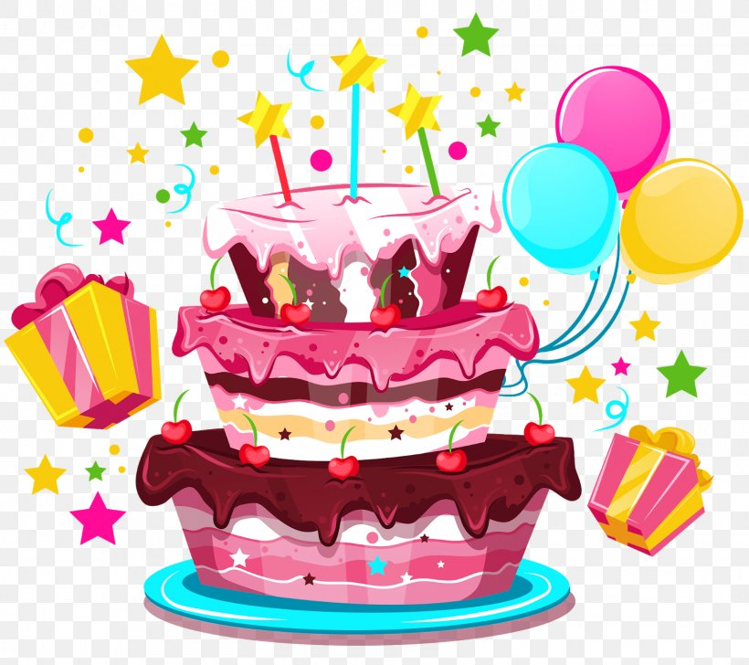 Birthday Cake Happy Birthday To You Party, PNG, 1600x1422px, Birthday Cake, Balloon, Birthday, Cake, Cake Decorating Download Free