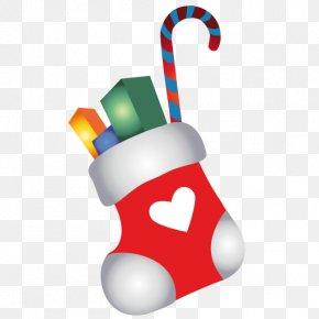 Christmas Stocking Cartoon - Christmas Stockings Sock Clip Art PNG