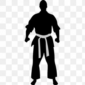 Karate Action Figures - Karate Martial Arts Combat Sport Icon PNG