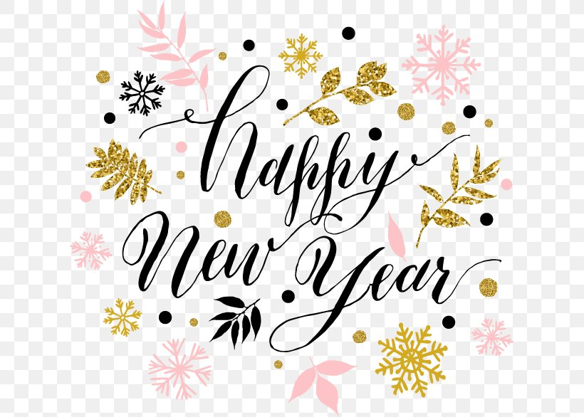 New Years Day Wish New Years Resolution New Year Card, PNG ...