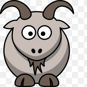 Goat Eat - Drawing Boer Goat Cartoon Clip Art PNG