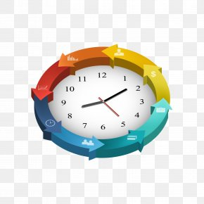 Color Clock Cycle Diagram - Infographic Diagram PNG