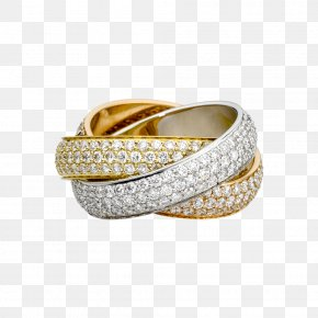 Jewelry Image - Ring Size Cartier Jewellery Colored Gold PNG