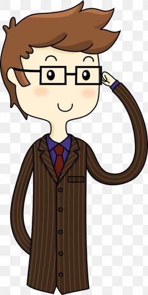 Doctor Cartoon Images - Seventh Doctor Tenth Doctor Cartoon Illustration PNG