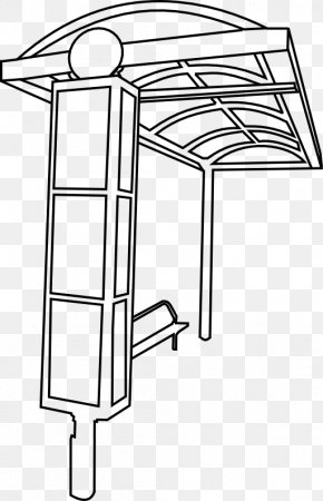 Bus Stop Clipart - Bus Stop Cartoon Clip Art PNG