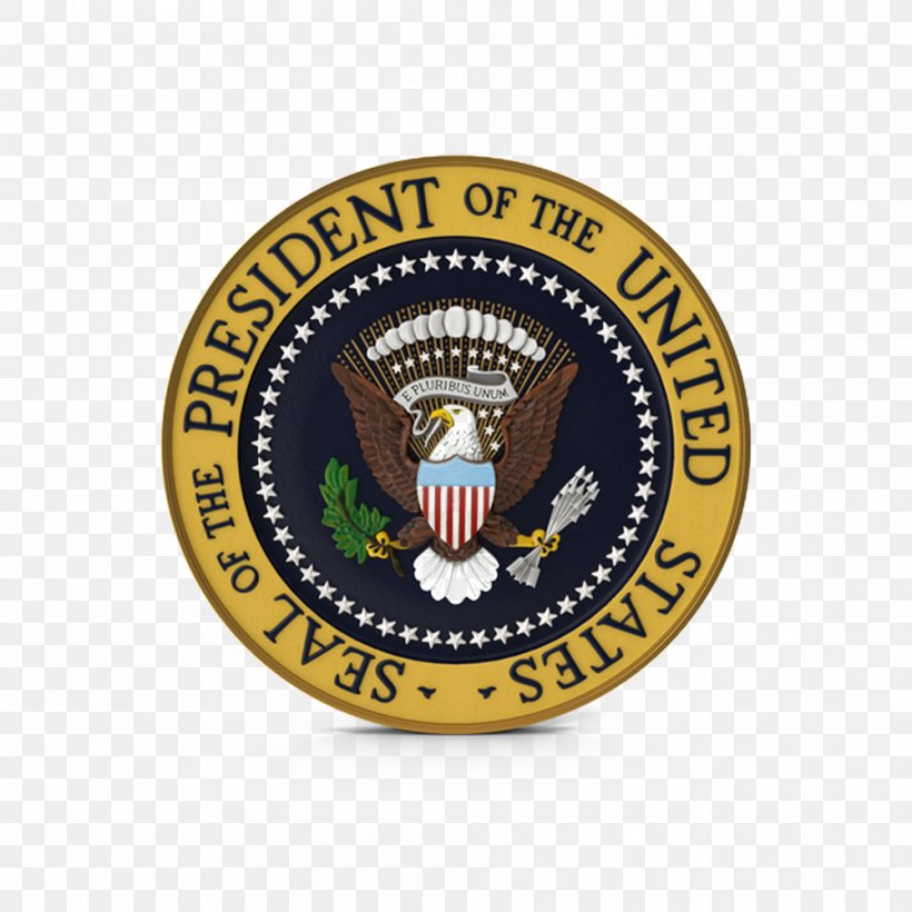 Oath Of Office Of The President Of The United States United States Presidential Inauguration Seal Of The President Of The United States, PNG, 1000x1000px, United States, Badge, Barack Obama, Brand, Donald Trump Download Free