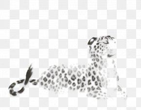Lion Black And White - Cheetah Leopard Jaguar Felidae Lion PNG