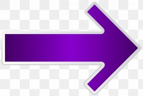 Arrow Purple Right Transparent Clip Art Image - Line Triangle Brand PNG
