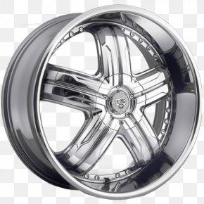 Car - Alloy Wheel Car Tire Rim PNG