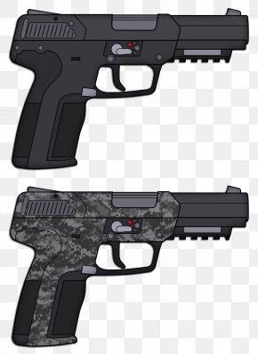 Handgun - Trigger FN Five-seven FN Herstal FN 5.7×28mm Firearm PNG