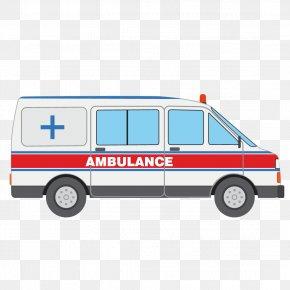 Cartoon Ambulance - Ambulance Icon PNG