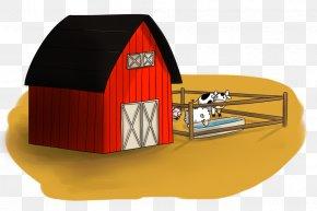 Farm Cliparts Pen - Cattle Silo Farm Barn Clip Art PNG