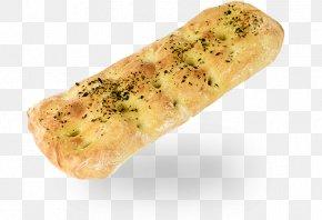 Bread - Naan Ciabatta Focaccia Baguette Garlic Bread PNG