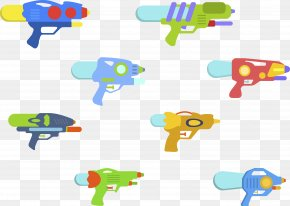 Water Gun Collection - Water Gun Toy Child Designer PNG