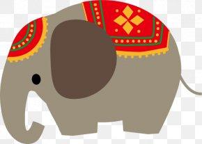 Top Pops - Indian Elephant SaJima Thai African Bush Elephant Illustration Thai Massage PNG