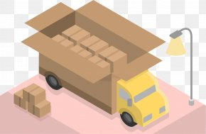 Flash Container - Transport Euclidean Vector Illustration PNG