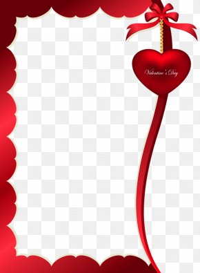Valentines Day Decorative Ornament For Frame PNG Clipart Picture - Valentine's Day Picture Frame Clip Art PNG