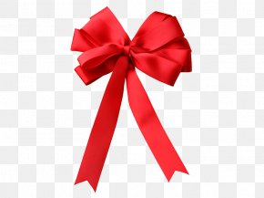 Red Bow - Ribbon Gift PNG
