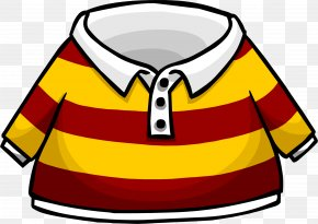 Shirt - Club Penguin Entertainment Inc Wikia Rugby Shirt PNG