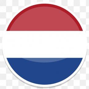 Netherlands - Blue Circle Font PNG