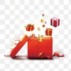 Chinese New Year Gift Big Run - Gift Chinese New Year PNG
