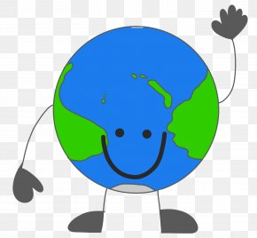 Cartoon Earth Cliparts - Earth Day Clip Art PNG