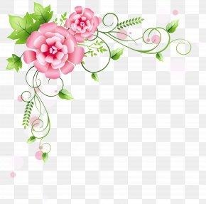 Corner Summer Cliparts - Flower Clip Art PNG