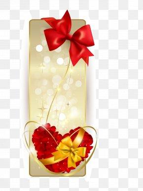 Ribbon,Love - Ribbon Banner Gift Euclidean Vector PNG