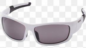 Sunglasses - Goggles Sunglasses White Ray-Ban PNG