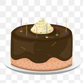 Vector Chocolate Cake - Birthday Cake Wish Chocolate Cake Happy Birthday To You PNG