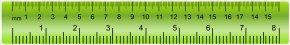 Ruler Green Transparent Clip Art Image - Green Tape Measure Font PNG