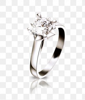Jewelry - Wedding Ring Silver Wedding Anniversary PNG