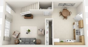 House - Interior Design Services 3D Floor Plan House PNG
