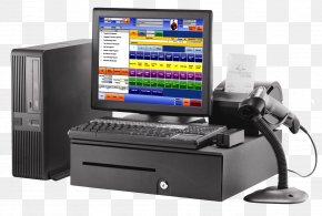 CASHIER - Point Of Sale Retail Business Sales Barcode Scanners PNG