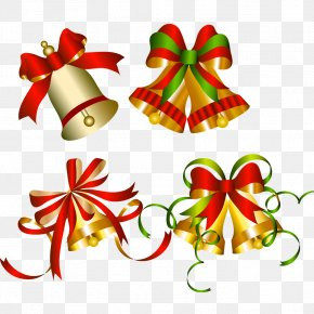 Christmas Bells - Christmas Ornament Clip Art PNG