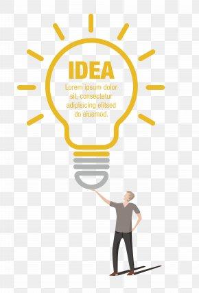 Vector Material Bulb Idea - Incandescent Light Bulb Lighting Electricity PNG