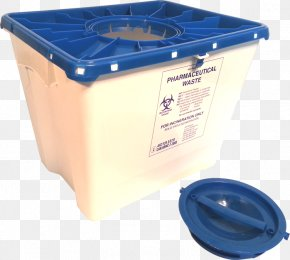Waste Container - Drug Disposal Sharps Waste Container Pharmaceutical Drug Plastic PNG