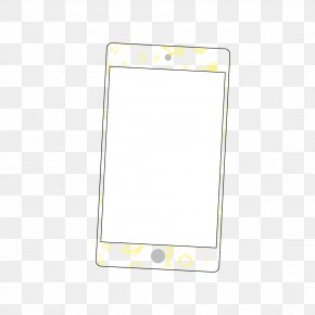 Mobile Phone Color Film - Yellow Mobile Phone Accessories Pattern PNG