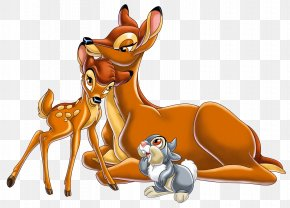 Bambi's Mother Bambi And Thumper PNG Image - Bambi's Mother Thumper Mickey Mouse Clip Art PNG