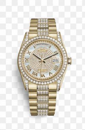Rolex - Rolex Daytona Rolex Day-Date Watch Gold PNG