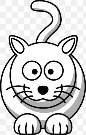 Halloween Black Cat Cartoon - Cat Kitten Cartoon Clip Art PNG