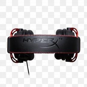Headphones - Kingston HyperX Cloud Alpha Headset Headphones Kingston HyperX Cloud II PNG