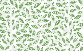 Green Leaves Background - Visual Arts Green Download PNG