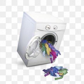 Clothes Washing Machine - Washing Machine Laundry Clothing PNG