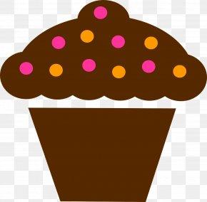 Chocolate Cake - Cupcake Birthday Cake Muffin Chocolate Cake Clip Art PNG