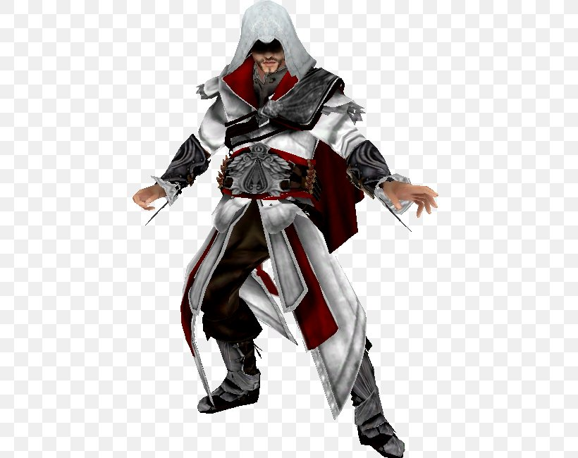 Ezio Auditore Assassin's Creed II Soulcalibur V Florence Assassins, PNG, 467x650px, Ezio Auditore, Action Figure, Armour, Assassins, Character Download Free